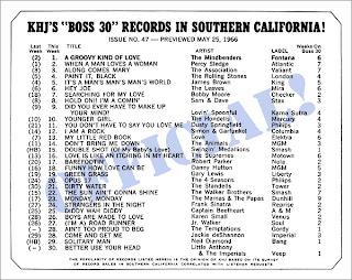 KHJ Boss 30 No. 47 - May 25, 1966