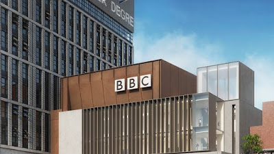 Mock-up of the BBC Stratford building