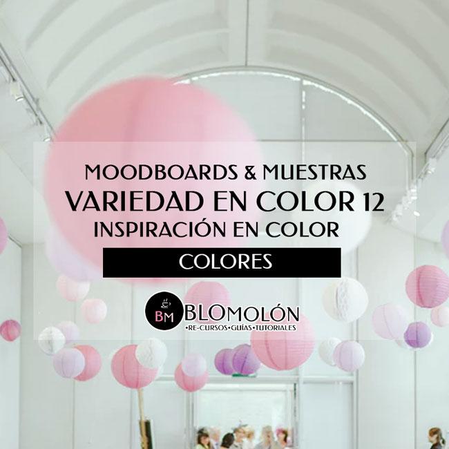 Variedad En Color 12 MoodBoards & Muestras