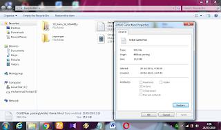 MyThingsTips Cara mengembalikan file pc yang terhapus 3