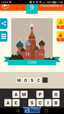 Iconica Italia Pop Logo Quiz soluzione pacchetto 3 livelli 9-50