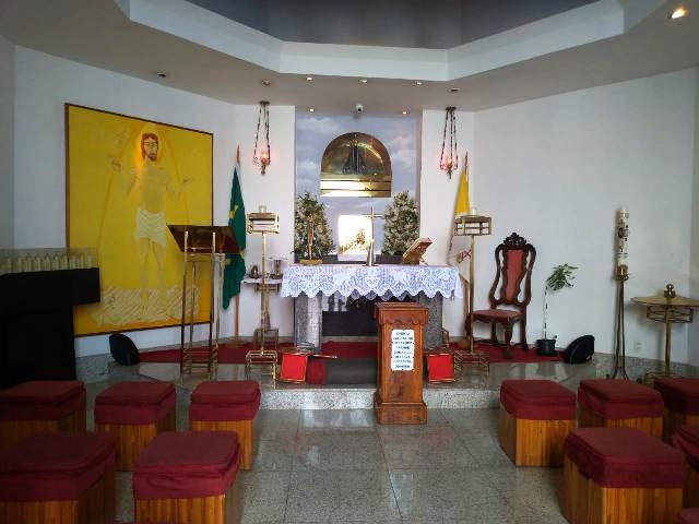 Capela do Cristo Redentor no Corcovado
