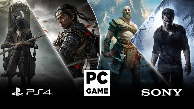 bloodborne ghost of tsushima god of war reboot uncharted collection ps4-exclusive pc release steam sony from software santa monica studio bluepoint sucker punch productions naughty dog