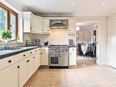 Dapur tampak lebih luas
