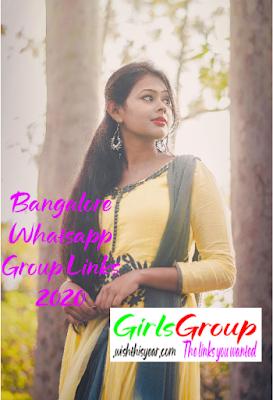 Bangalore Whatsapp Group Links 2020
