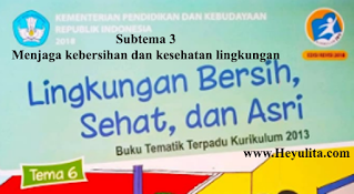 Soal kelas 1 tema 6 subtema 4