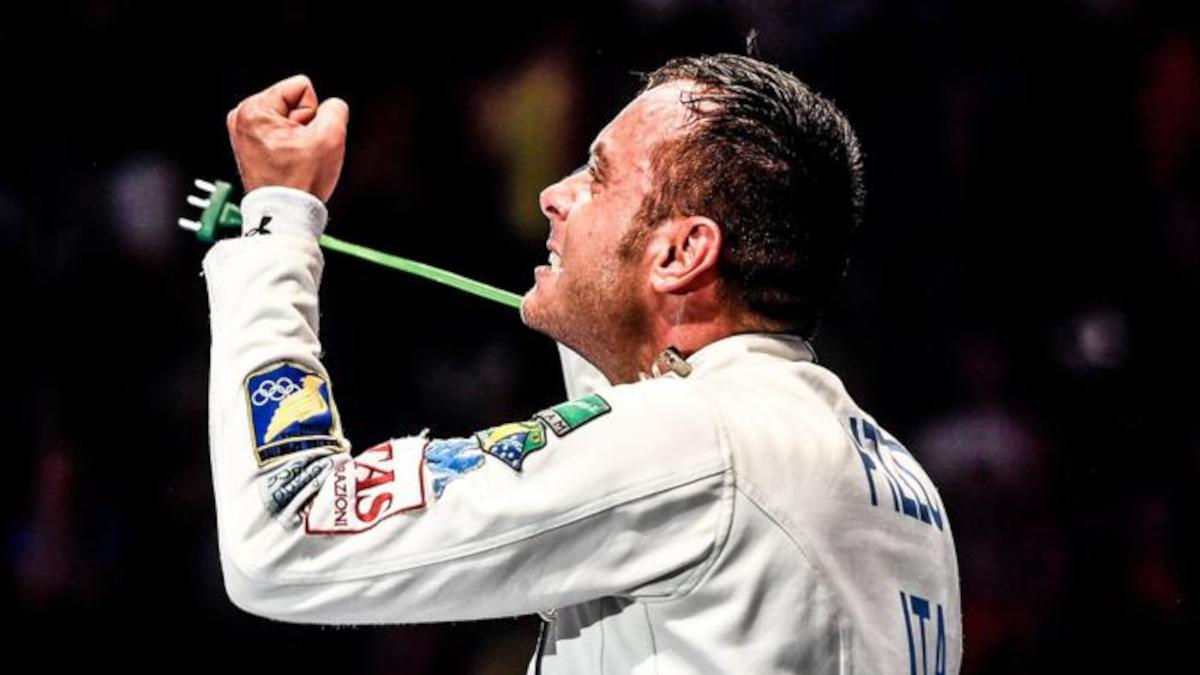 Scherma Paolo Pizzo campione italiano