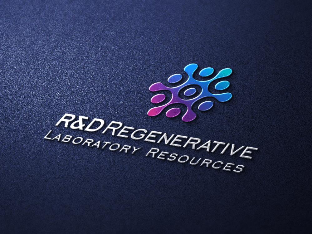Logo Metallic Design Presentation R&D Labs