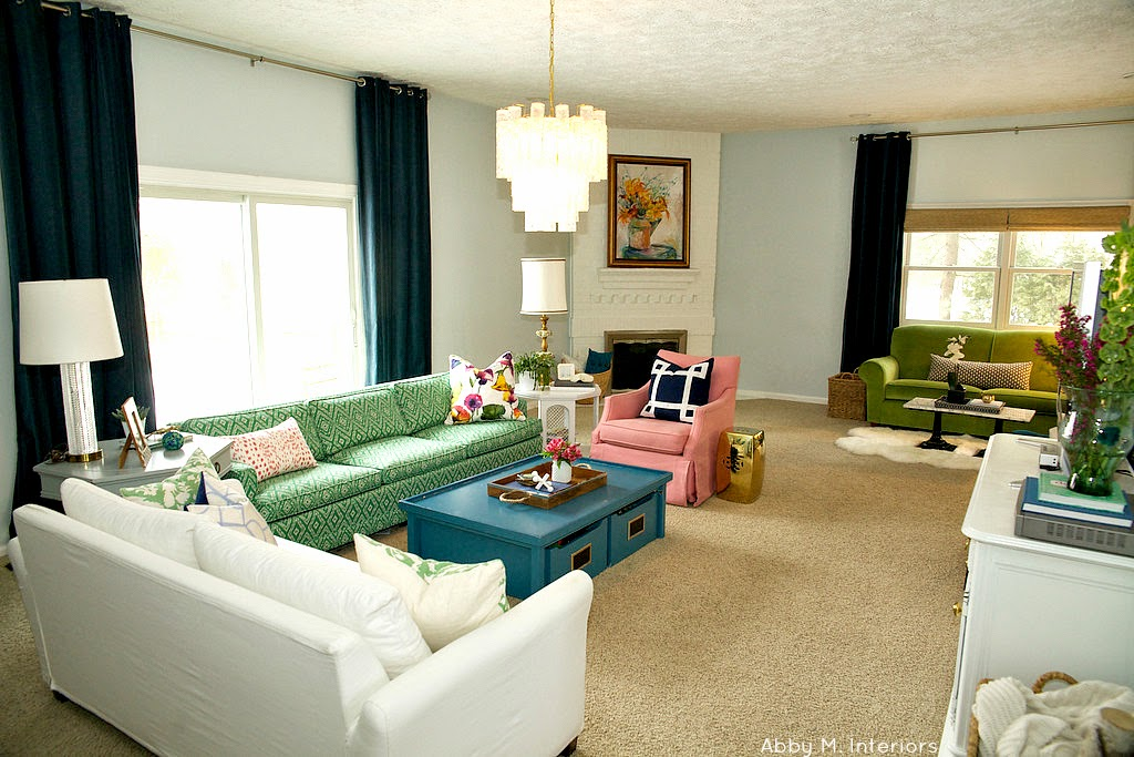 Designpost interiors multiple seating areas in your - Multiple seating areas in living room ...