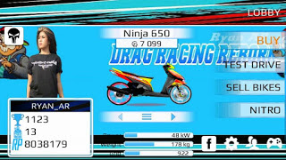 Game Drag Racing Bike Mod Indonesia Android