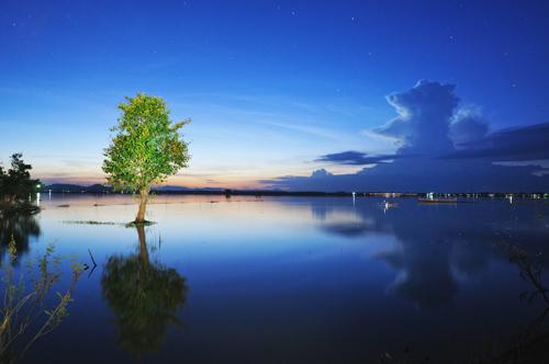 An Giang floating water season