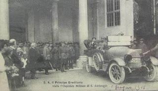ospedale sant'ambrogio prima guerra WWI