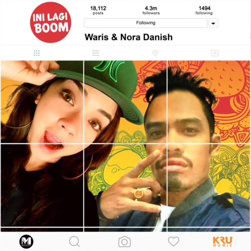Lirik Lagu Ini Lagi Boom - Waris & Nora Danish