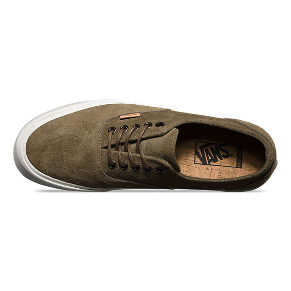 0af9a51ee4 Vans California Raw Suede Era Decon CA. Dark Olive Cork. VN000OX1HW9