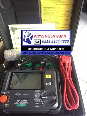 Jual  Kyoritsu KEW 3125a  Voltage Insulation Tester di Padang