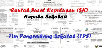 Format SK Tim Pengembang Sekolah