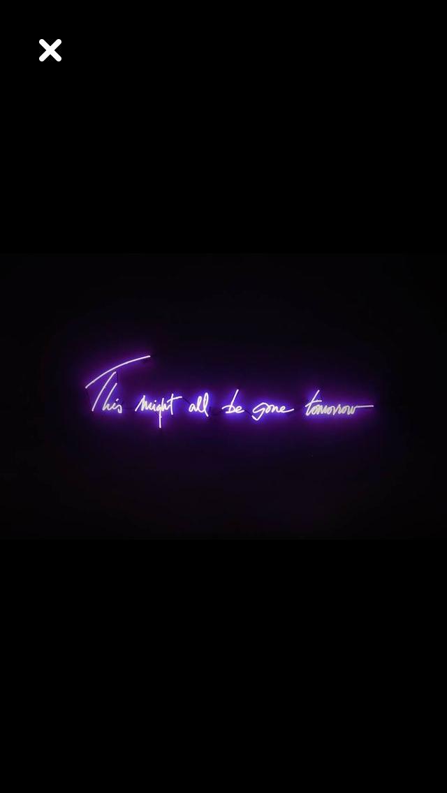 Aesthetic Purple Neon Wallpapers