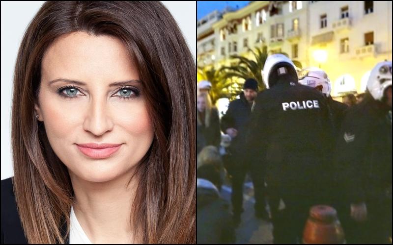 Οι Ενώσεις Αστυνομικών Λάρισας και Μαγνησίας κατά της Νίνας Κασιμάτη