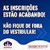 ATENÇÃO: NÃO FIQUE DE FORA DO VESTIBULAR DA FACULDADE DOM BOSCO...