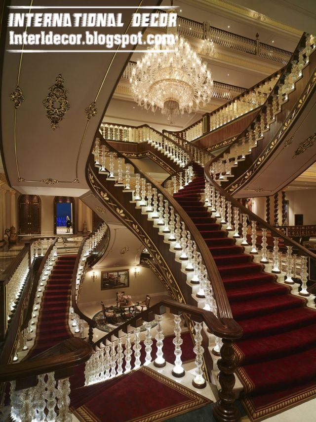 Crystal Stair Railings Handrails And Crystal Stair Columns