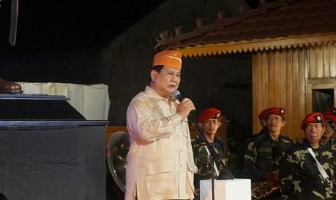 Menhan Prabowo: 99% Rakyat RI Ingin Pertahankan Pancasila