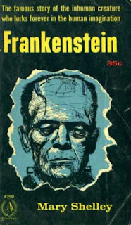 Libro Frankenstein de Mary Shelley
