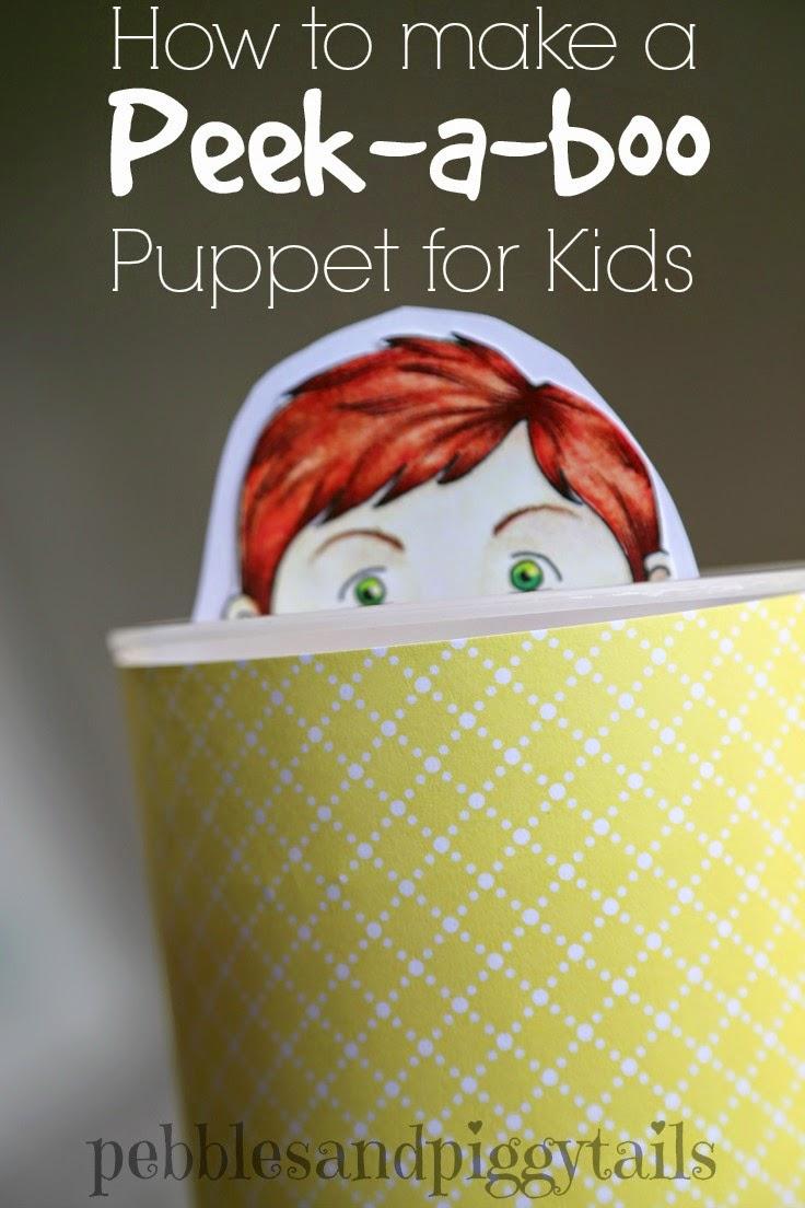 Peek-a-Boo Puppet