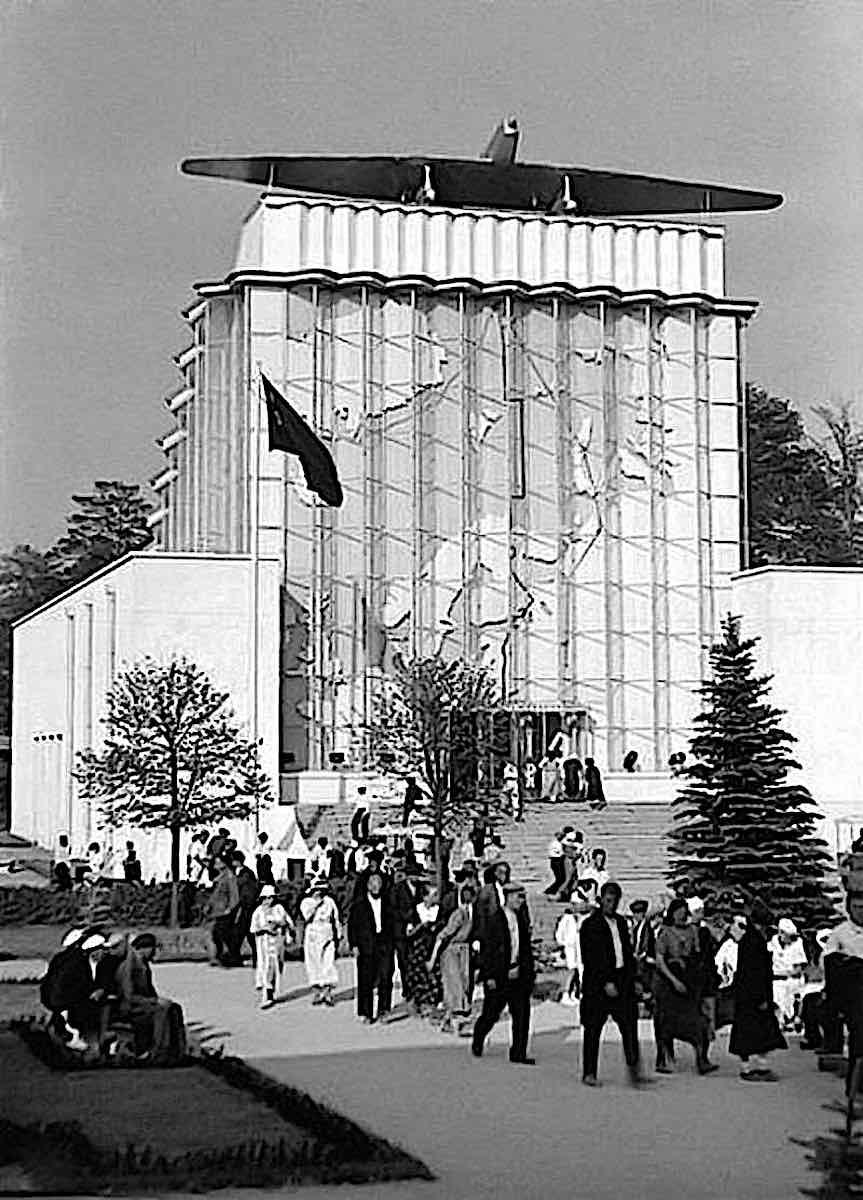 at the 1939 Soviet VDNKh exhibition