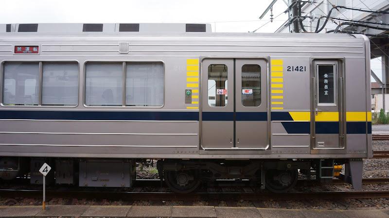 東武鉄道20400系先頭車両側面