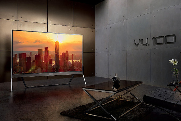 Vu 100 (VU100OA) is the World's first 100-inch 4K LED TV