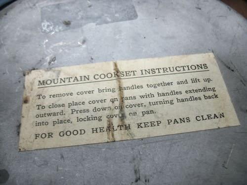 Webbingbabel Us Army M 1942 Mountain Troops Cook Set
