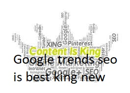 Google Trends & SEO