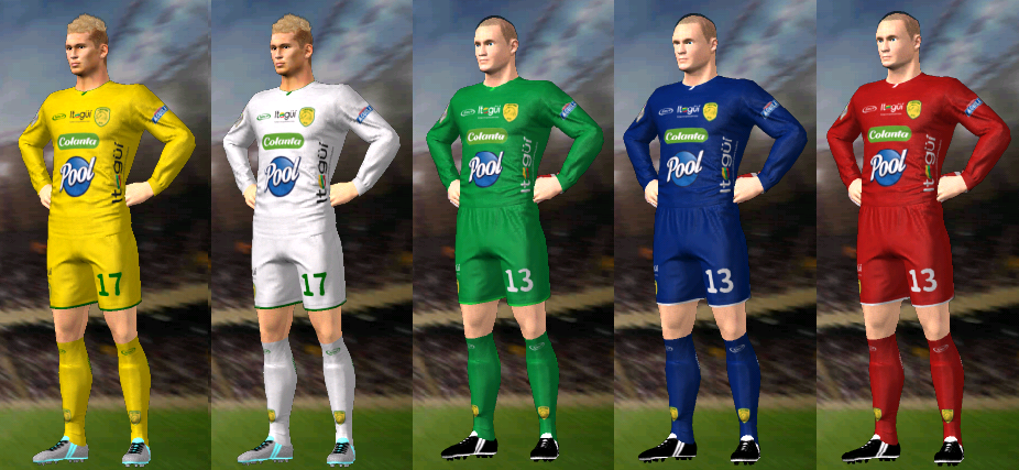 Update, Kits/Uniformes Leones FC