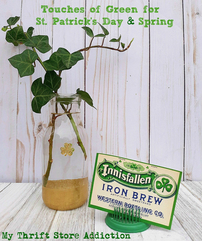 spring greenery St. Patrick's Day