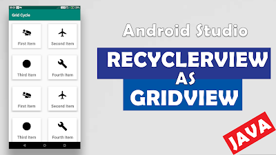 Display RecyclerView in Gridview Layout Android | Android Basic Tutorials