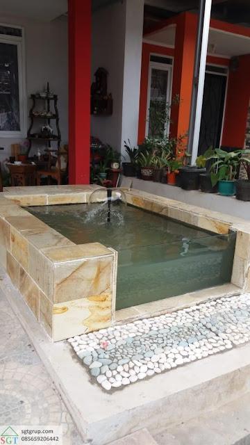 Jasa Pembuatan Kolam Minimalis di Bandung