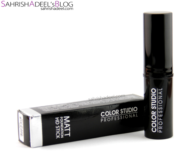 Matt Foundation HD Stick by Color Studio Pro - Review & Swatches