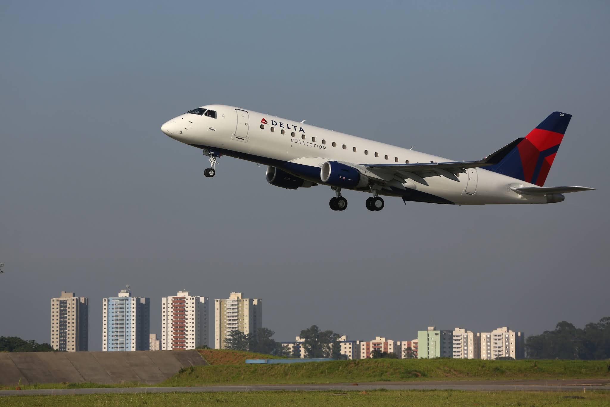 SkyWest encomenda 16 novos E175 para operar com a Delta Air Lines | É MAIS QUE VOAR