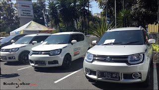 Armada konvoi New Suzuki Ignis Media Gathering