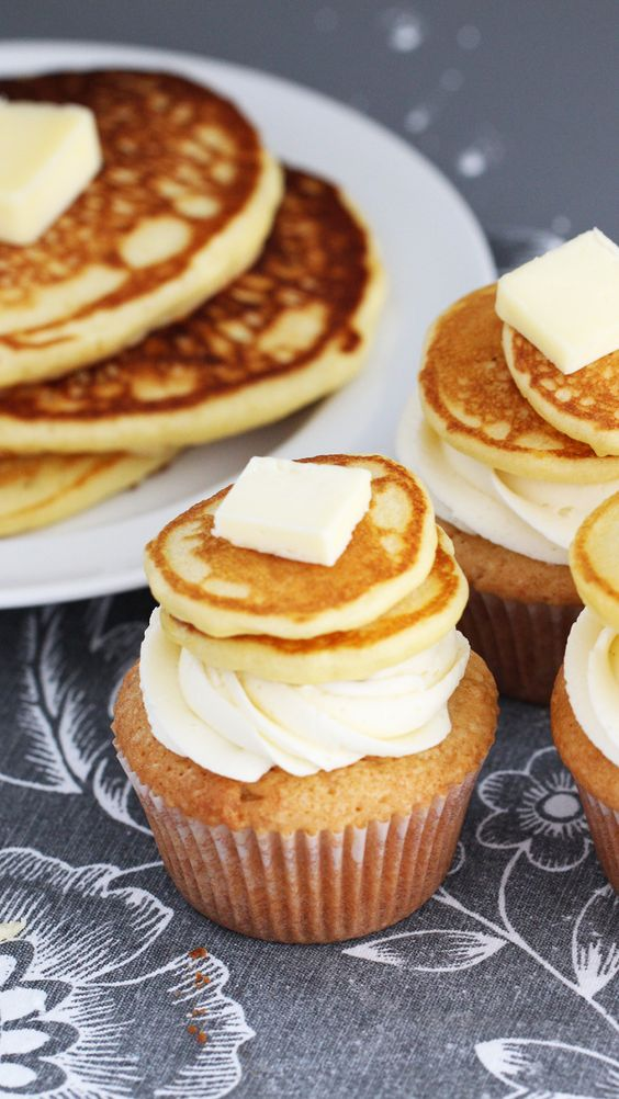 Dessert for breakfast, anyone? Your breakfast routine, now with more frosting.