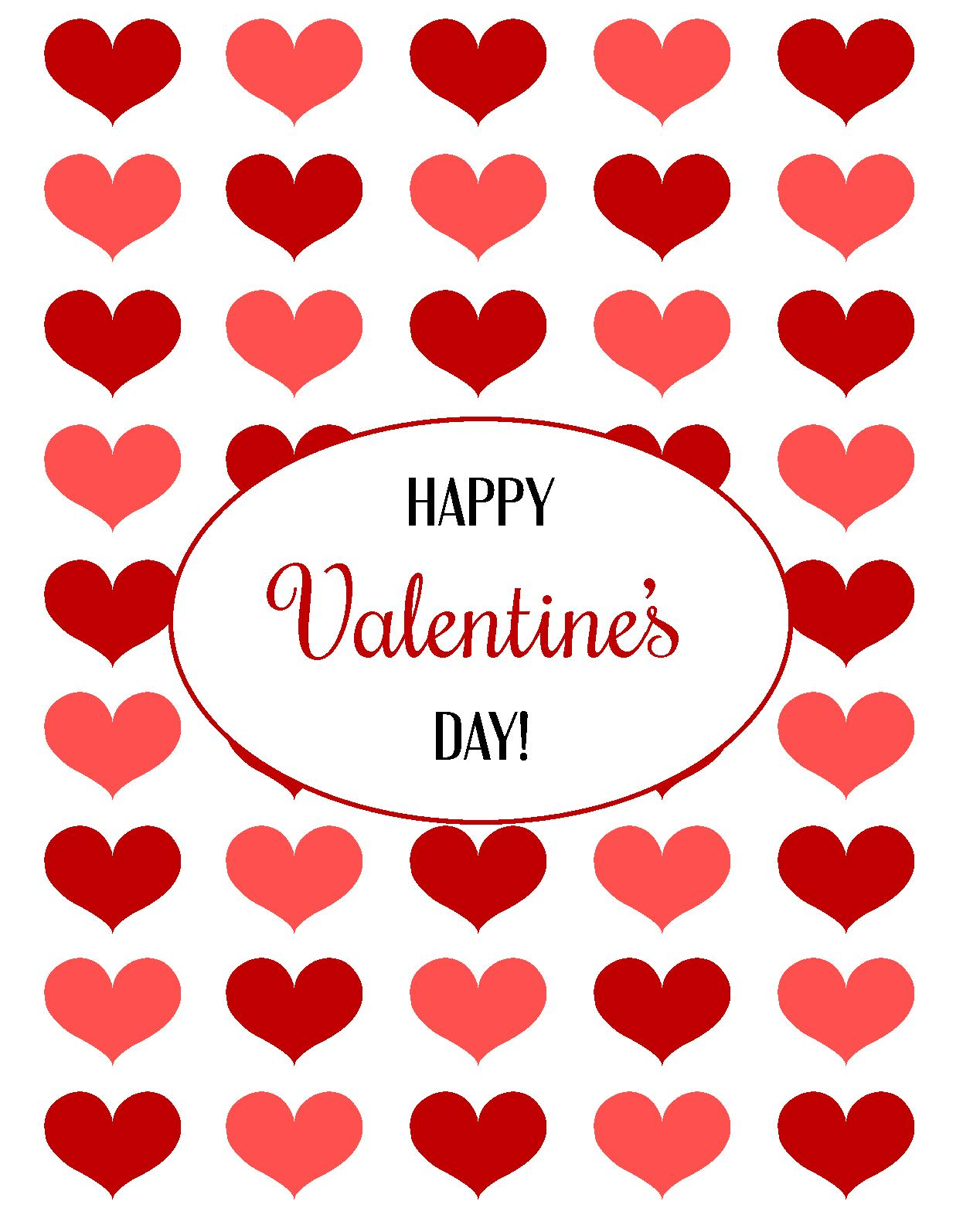 Keeping It Crafty Valentine S Day Printables