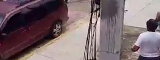 VIDEO; Captan en video el asesinato del priista Juan Valadez en Acapulco