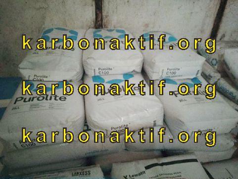 jual resin kation dan anion purolite