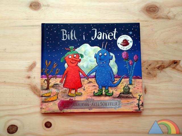 Portada del libro Bill y Janet de Julia Donaldson y Axel Scheffler