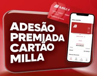 Cadastrar Adesão Premiada Milla Cartão Promoção