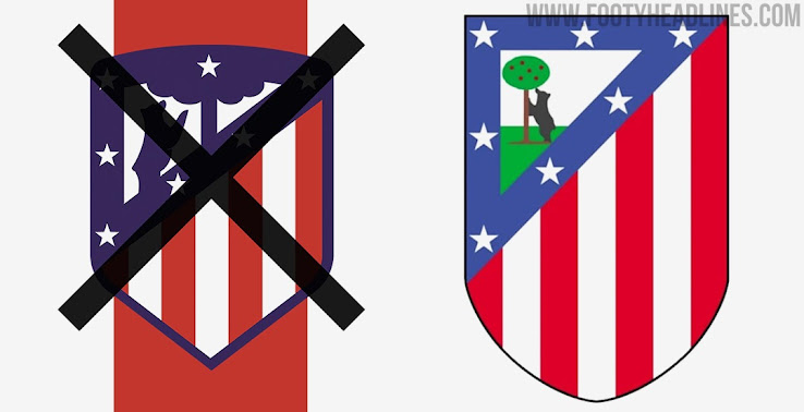 Four Options Will Nike Bring Back The Old 1947 Atletico Crest Next Season Footy Headlines