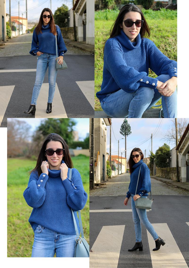 Look Blue sweater