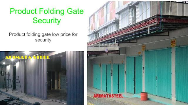 gambar untuk harga folding gate