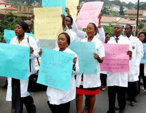 Indefinite strike doctors begin in Edo State