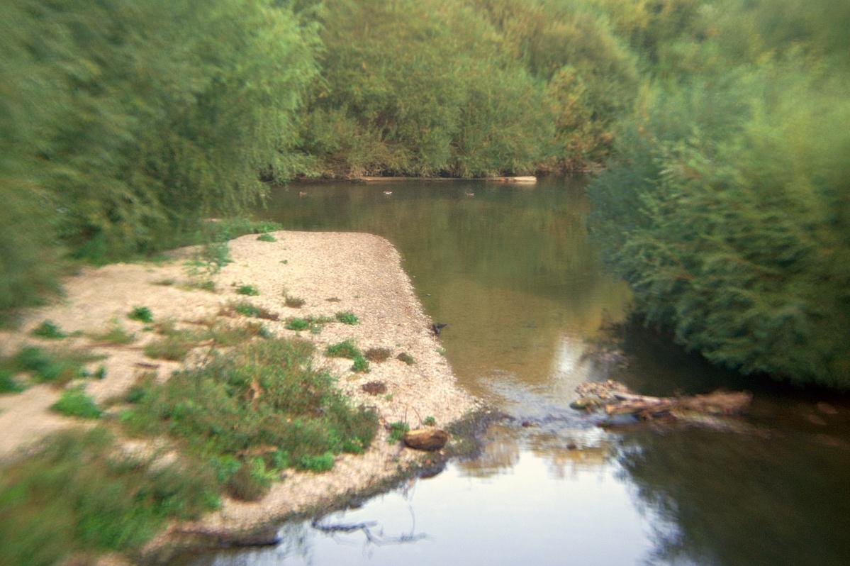Wasserüberlaufeinlauf in den Neckar